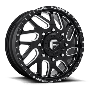 FF29D - Front Gloss Black & Milled 8 lug