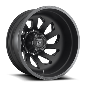 Fuel Dually Wheels FF39D-10 Dually Rear 22x8.25 Forged 10 Matt Black