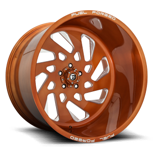 FF40 - 5 LUG Brushed Candy Copper 5 lug