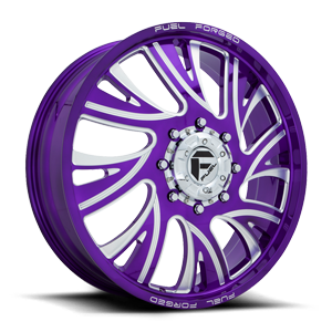 FF41D - Front Candy Purple 8 lug