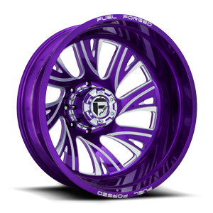 FF41D - Rear Candy Purple 8 lug