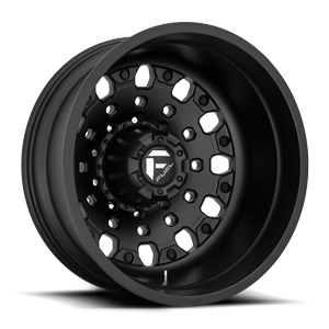 FF48D - Rear Matte Black 10 lug