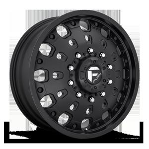 Fuel Dually Wheels FF48D - Front 10 Matte Black