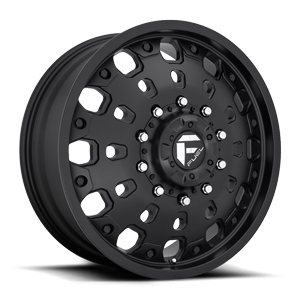 FF48D - Front Matte Black 10 lug