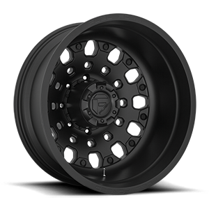 Fuel Dually Wheels FFS48D - Rear 8 Matte Black