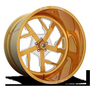 FF51 - 5 Lug 24K Gold 5 lug