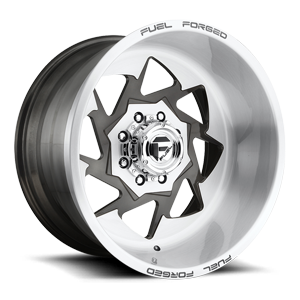 Fuel Forged Wheels FF61 8 Brushed Gloss Clear / DDT