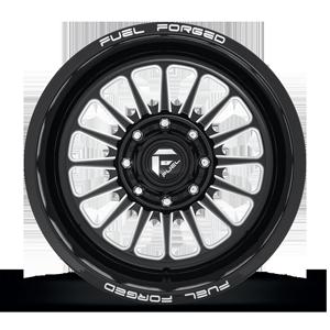 FF75 Gloss Black & Milled 8 lug