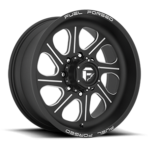 Fuel Forged Wheels FF79 8 Matte Black & Milled