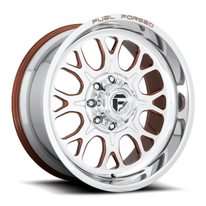 Fuel Forged Wheels FF88 8 Polished w/ Beaver Bronze