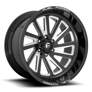 FFC16 | Concave 6 Lug Gloss Black & Milled 6 lug