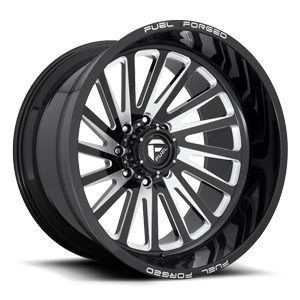 FFC16 | Concave 8 Lug Gloss Black & Milled 8 lug