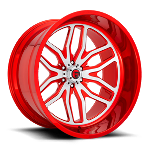FFC66 | Concave Candy Red 6 lug