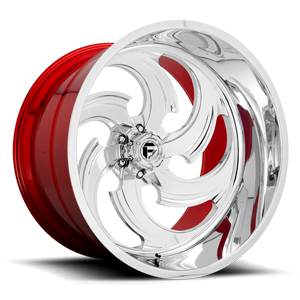 Fuel Forged Concave FFC67 | Concave 6 Polished w/ Candy Red Inner