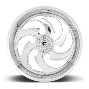FFC67   Concave Polished w/ Candy Red Inner 6 lug