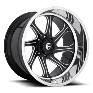 Fuel Forged Concave FFC79 | Concave 8 Gloss Black w/ Polished Lip