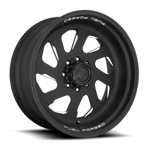Fuel Dually Wheels FFS39D 8 Matte Black & Milled