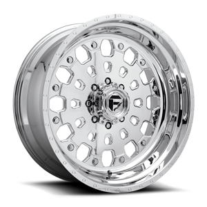 FF48D - 8 Lug Super Single Front Polished 8 lug