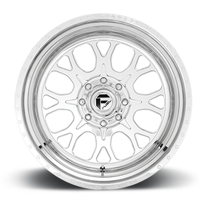 FF88D - 8 Lug Super Single Front Polished 8 lug