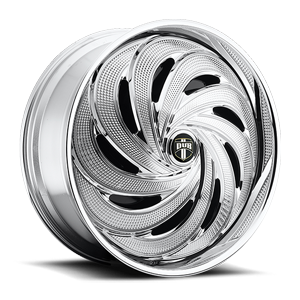DUB Spinners Flow - S738 5 Chrome