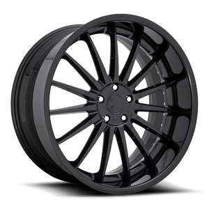 Form Gloss Black 5 lug