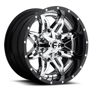 Fuel 2-Piece Wheels Lethal - D266 5 Chrome