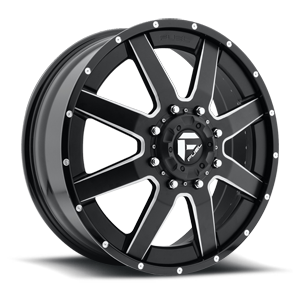 Fuel Dually Wheels Maverick Dually - D262 8 Custom