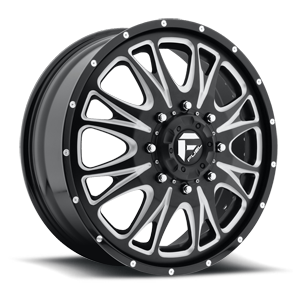 Fuel Dually Wheels Throttle Dually - D213 8 Custom