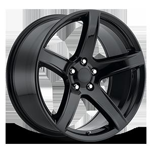 Style 77 Gloss Black 5 lug
