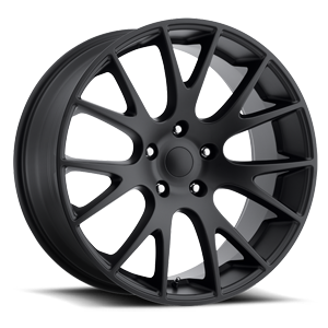 Factory Reproductions Style 70 Truck/SUV 5 Satin Black