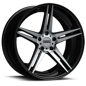 Fondmetal 180 5 Gloss Black Machined