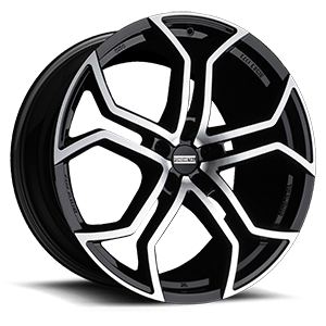 Fondmetal 185 5 Gloss Black Machined