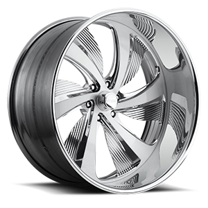 Foose Bel-Air - F214 6 Brushed and Polished