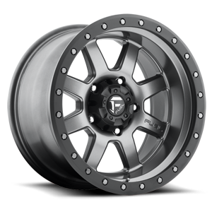 Fuel 1-Piece Wheels Trophy - D552 5 Matte Anthracite w/ Black Ring