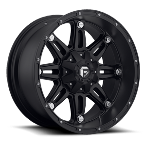 Hostage - D531 Matte Black 5 lug