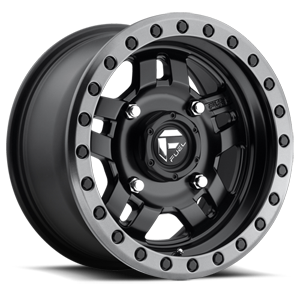 Fuel UTV Wheels Anza - D557 - UTV 4 Matte Black w/ Anthracite Ring