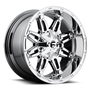 Fuel 1-Piece Wheels Hostage - D529 5 PVD