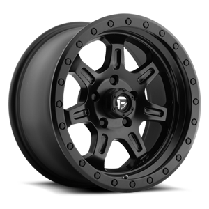 Fuel 1-Piece Wheels JM2 - D572 5 Matt Black