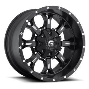 Fuel 1-Piece Wheels Krank - D517 5 Matte Black & Milled