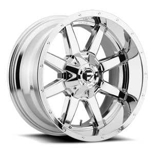 Fuel 1-Piece Wheels Maverick - D536 8 Chrome
