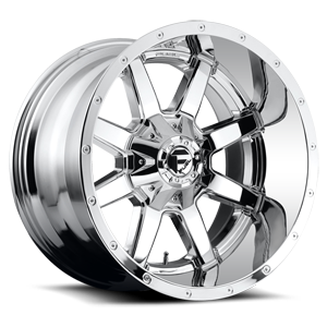 Fuel Deep Lip Wheels Maverick - D536 5 Chrome
