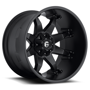 Fuel Deep Lip Wheels Octane - D509 5 Matte Black