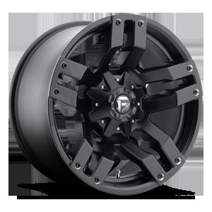 Fuel 1-Piece Wheels Pump - D515 5 Matte Black