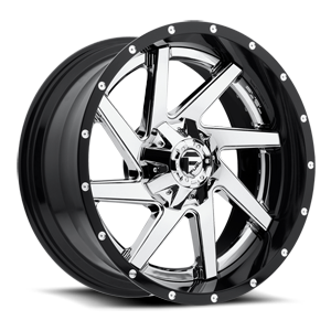 Fuel 2-Piece Wheels Renegade - D263 5 Chrome center, gloss black outer
