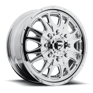 Fuel Dually Wheels Throttle Dually - D212 8 Chrome