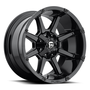Coupler - D575 Gloss Black 6 lug