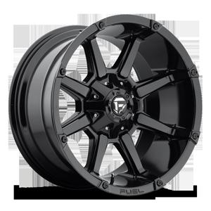 Fuel 1-Piece Wheels Coupler - D575 6 Gloss Black