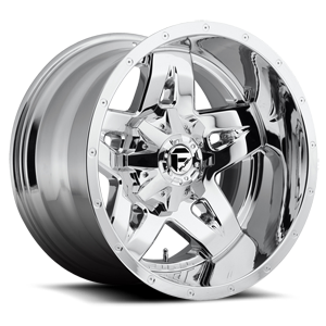 Fuel Deep Lip Wheels Full Blown - D553 6 Chrome
