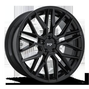 Niche Sport Series Gamma - M224 5 22x10.5 | Glossy Black