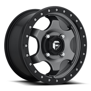 Fuel UTV Wheels GATLING - D640 4 15x7 | Anthracite w/ Black Ring